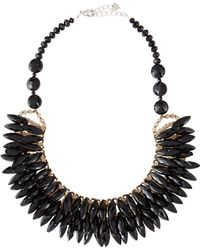 Nakamol Crystal Porcupine Bib Necklace - Lyst