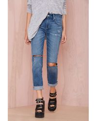 Nasty Gal Lovers and Friends Ezra Boyfriend Jean - Lyst