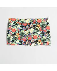 J.Crew Factory 3 Printed Stretch Chino Short - Lyst
