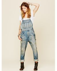 Bliss and Mischief - Rascal Washed Dungarees - Lyst