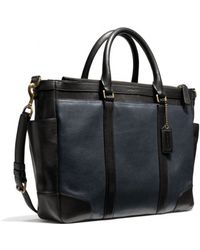 Coach Bleecker Metropolitan Bag In Harness Leather - Lyst