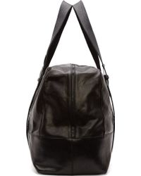 Ann Demeulemeester - Black Leather Large Duffle Bag - Lyst