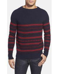Burberry Brit 'Fairburn' Trim Fit Wool & Cashmere Crewneck Sweater - Lyst