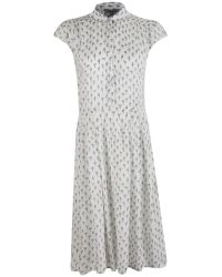 Great Plains - Womens Get Knotted Print Dress - Lyst