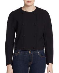 Proenza Schouler Round-shoulder Jacket - Lyst