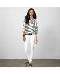 Denim & Supply Ralph Lauren - Striped Boatneck Tee - Lyst
