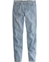 J.Crew Tall Stretch Toothpick Cone Denim® Jean In Durant Wash - Lyst