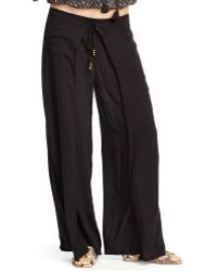 Denim & Supply Ralph Lauren Smocked Wide-Leg Pant - Lyst