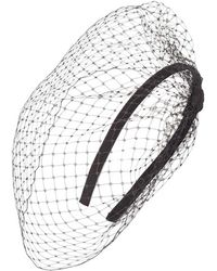 Jennifer Ouellette - Jennifer Ouellete Side Divot Fascinator - Lyst
