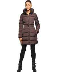 Add Waterproof Hooded Long Down Jacket - Lyst