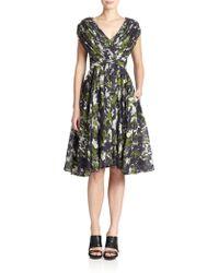 Jason Wu Pleated Voile Dress - Lyst