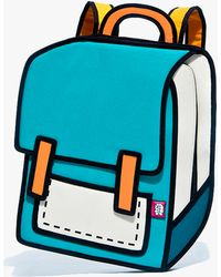 Jump From Paper Spaceman Backpack Green - Lyst