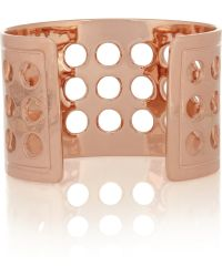 Arme De L'Amour - Rose Gold-Plated Cuff - Lyst
