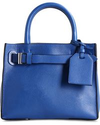 Reed Krakoff Small Leather Bag blue - Lyst