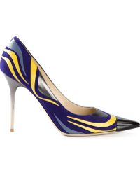 Jimmy Choo Dani Intarsia Pumps - Lyst