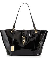 Badgley Mischka Juliette Patent Eastwest Tote Bag - Lyst