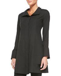 Donna Karan New York Long-sleeve Tunic Jacket - Lyst