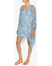 Joie - Printed Chiffon Tunic Dress - Lyst