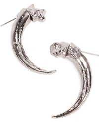 Pamela Love Single Eagle Claw Earring - Lyst