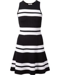 A.L.C. Striped Flared Dress - Lyst