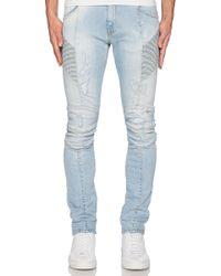 Balmain Blue Jeans - Lyst