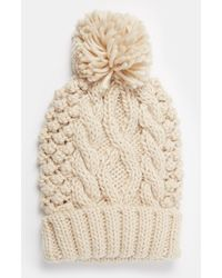 ASOS | Cable Pom Beanie | Lyst