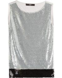 Steffen Schraut Sequin Embellished Rock-Me Glam Top - Lyst