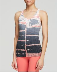 Hard Tail - String Back Tie-dye Tank Top - Lyst