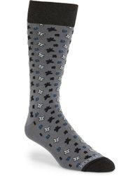 Hook + Albert - Pattern Socks - Lyst
