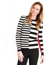 Katherine Barclay - Variegated Stripe Sweater - Lyst