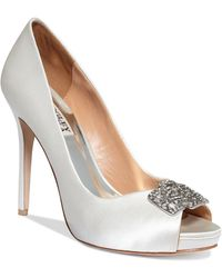 Badgley Mischka Tory Platform Pumps - Lyst
