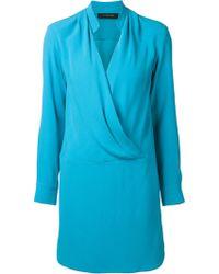 Thakoon Draped Dress - Lyst