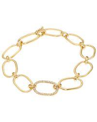 Irene Neuwirth White-diamond  Yellow-gold Bracelet - Lyst