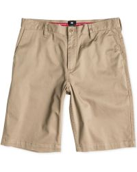 "DC Shoes - Worker Stretch Twill 22"" Shorts - Lyst"