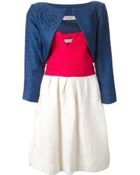 Yves Saint Laurent Vintage Strapless Dress - Lyst