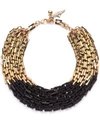 Lulu Frost Poison Necklace black - Lyst