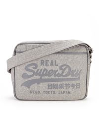 Superdry Melton Alumni Messenger Bag - Lyst