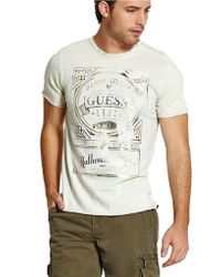 Guess Stream Graphic T-Shirt - Lyst