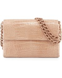 Nancy Gonzalez - Medium Crocodile Flap Shoulder Bag - Lyst