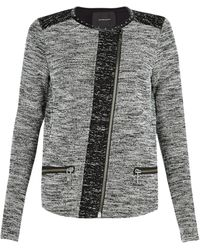 Maison Scotch Bouclã Zip Jacket - Lyst
