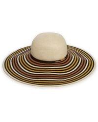 Eugenia Kim Bunny Wide-Brim Toyo Paper Hat beige - Lyst