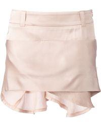 Haider Ackermann Glizinie Skirt beige - Lyst