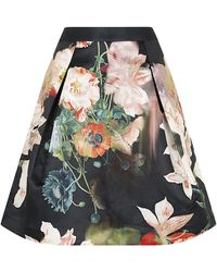 Ted Baker Multicolor Paladia Skirt - Lyst