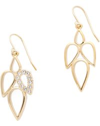 Sam Edelman - Multi Teardrop Earrings - Gold - Lyst