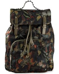 Valentino 'Camubutterfly' Backpack - Lyst