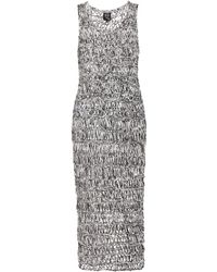 McQ by Alexander McQueen Crochet-Knit Dress - Lyst