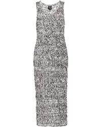 McQ by Alexander McQueen Crochet-Knit Dress - Lyst