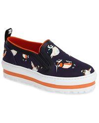 MSGM Slip-On Platform Sneaker - Lyst