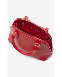 Express Textured Mini Bowler Bag - Lyst
