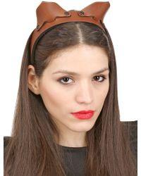 Fleet Ilya - The Cat Ear Headband - Lyst